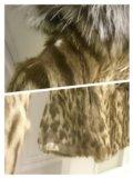 Эксклюзивная шуба из меха оцелота. Фото 4.
