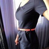 Новое строгое платье миди. Фото 2.
