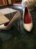 Туфли белые. Фото 3.