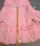 Куртка зимняя/межсезон на девочку 110 см. Фото 4.