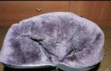 Замшевые зимние сапоги. Фото 2.