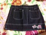 Новая джинсовая юбочка. Фото 3.
