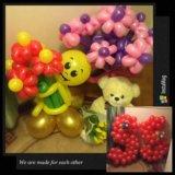 Букеты из шаров, гелиевые шарики от 39рублей🎈🎈🎈. Фото 2.