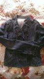 Джинцовая куртка модная. Фото 3.
