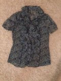 Блузка с коротким рукавом. Фото 1.