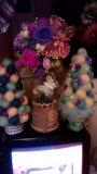 Новогодняя елочка - топиарий. Фото 2.