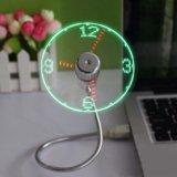 Usb вентилятор с часами. Фото 1.