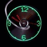Usb вентилятор с часами. Фото 3.