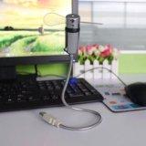 Usb вентилятор с часами. Фото 2.