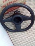Рулевое колесо. Фото 1.