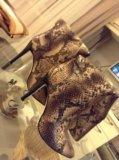 Сапоги новые рептилия. Фото 2.