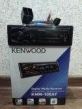 Автомагнитола kenwood kmm-100ay. Фото 1.