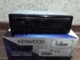 Автомагнитола kenwood kmm-100ay. Фото 2.