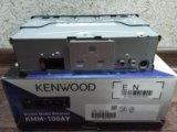 Автомагнитола kenwood kmm-100ay. Фото 4.