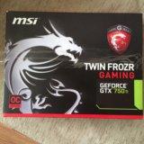 Продается видеокарта. nvidia geforce gtx 750. Фото 1.