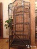 Большая клетка для птиц. Фото 1.