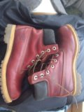 Ботинки кожаные timberland  размер 39 . Фото 1.