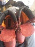 Ботинки кожаные timberland  размер 39 . Фото 3.