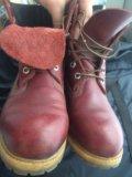 Ботинки кожаные timberland  размер 39 . Фото 2.