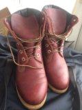 Ботинки кожаные timberland  размер 39 . Фото 4.