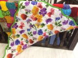 Одеяло пэчворк. Фото 2.