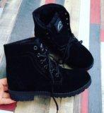 Зимние новые ботинки. Фото 1.