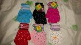 Перчатки для девочек. Фото 1.