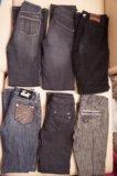 Джинсы и теплые брюки р.42-46. Фото 2.