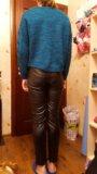 Кожаные брюки. Фото 3.