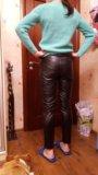 Кожаные брюки. Фото 2.