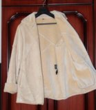 Куртка дубленка, искусственный мех. Фото 1.
