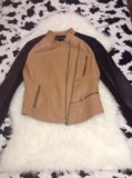 Куртка нат кожа. Фото 1.