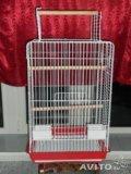 Большая клетка для попугаев. Фото 2.