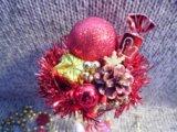 Новогодняя композиция. Фото 2.