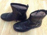 Зимние натуральные ботинки. Фото 2.