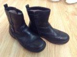 Зимние натуральные ботинки. Фото 3.