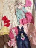 Продам пакет одежды на девочку. Фото 1.