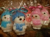 Мыло снеговик. Фото 3.