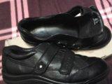 Ecco. кроссовки на девочку. натуральная кожа. Фото 2.