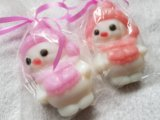 Мыло снеговик. Фото 2.