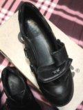 Ecco. кроссовки на девочку. натуральная кожа. Фото 3.