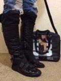 Сапоги и сумка. Фото 3.