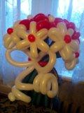 Букеты из шаров. Фото 1.