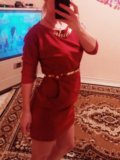 Красное платье !. Фото 1.