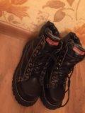 Классные зимние ботинки,натуральная кожа и мех. Фото 2.