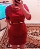 Красное платье !. Фото 2.