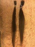 Натуральные волосы для наращивания. Фото 1.