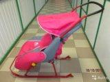 Санки-коляска ника детям. Фото 2.