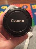 Объектив canon 50mm. Фото 3.