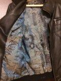 Куртка кожаная женская. Фото 2.
